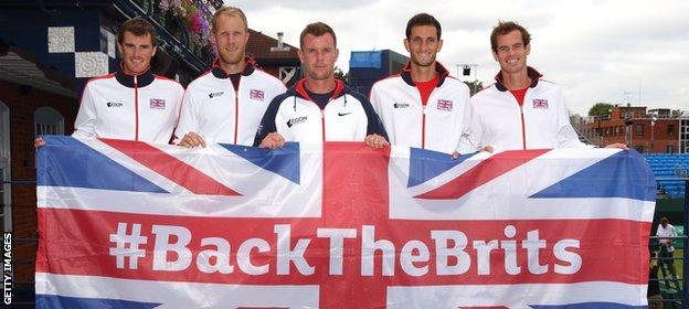 GB Davis Cup team