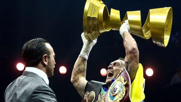 Usyk became undisputed world cruiserweight champion and won the Muhammad Ali Trophy in July