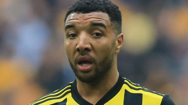 Troy Deeney: Watford captain receives alleged racist abuse on social media thumbnail