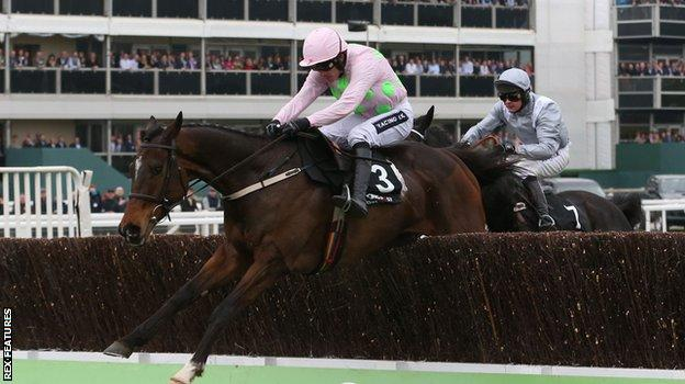 Douvan ridden by Ruby Walsh