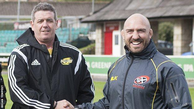 Chris Stirling and Alan Paver