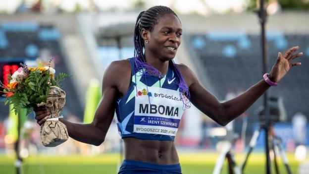 Christine Mboma of Namibia