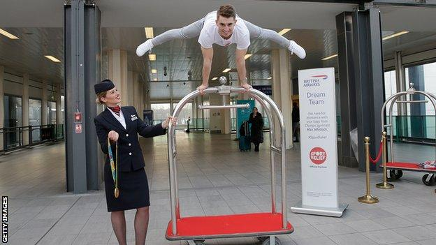 A victory for Max Whitlock could spawn more eye-catching celebrations