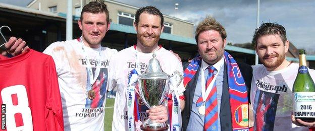 Ards remembered player Gary Warwick who was seriously injured in an assault