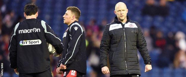 Caretaker head coach Duncan Hodge will revert to his role as backs coach