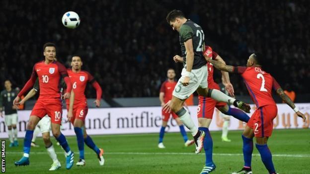 Mario Gomez scored for Germany