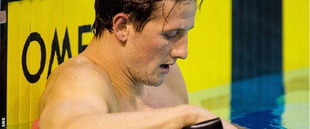 Michael Jamieson reflects on missing out on selection for Rio at the British Championships