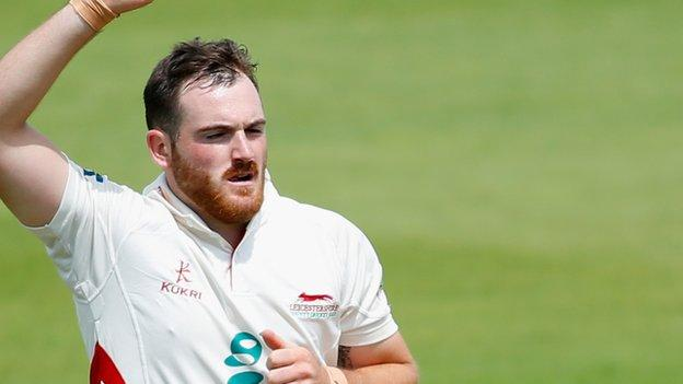 Ben Raine will be available for selection with Leicestershire for the remainder of the season
