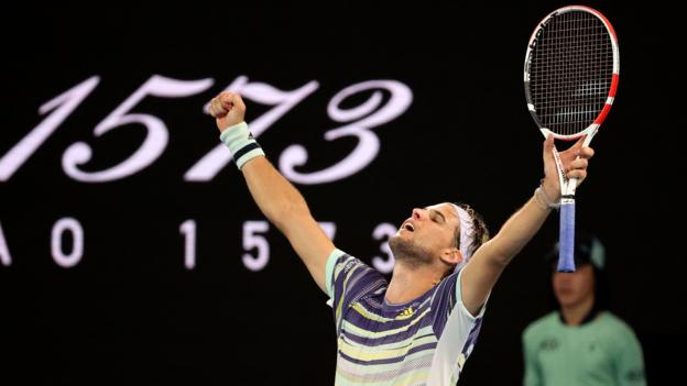 Australian Open: Dominic Thiem stuns Rafael Nadal in four-set thriller