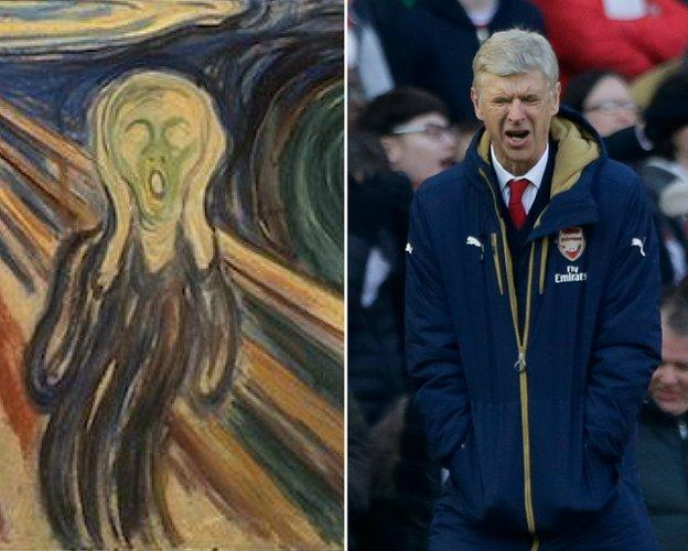 Edvard Munch and Wenger