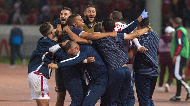 Wydad are through to the final of African football's elite club event for only the third time