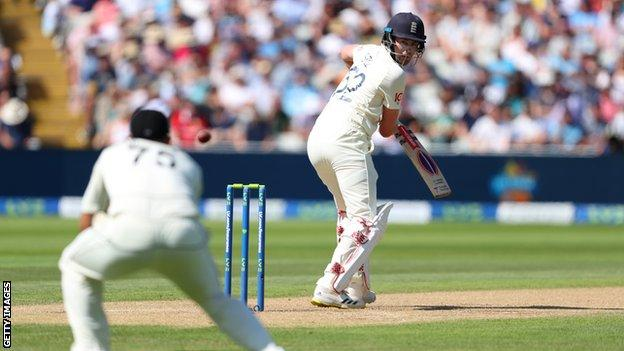 England opener Dom Sibley is caught in the slips against India