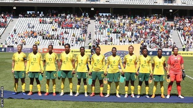 South Africa's women's team