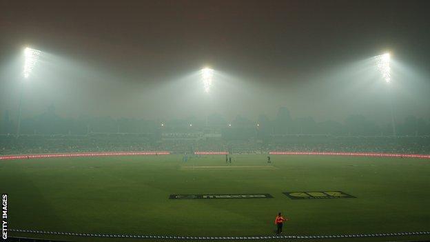 Smoke in Canberra