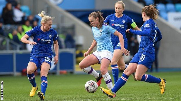 Man City Women v Chelsea Women