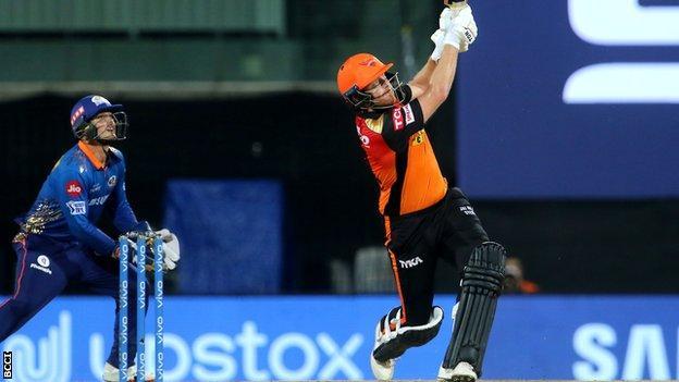 IPL: Sunrisers Hyderabad beaten by Mumbai Indians despite Jonny Bairstow knock thumbnail