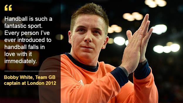 Aspire to be like London 2012 captain Bobby White.