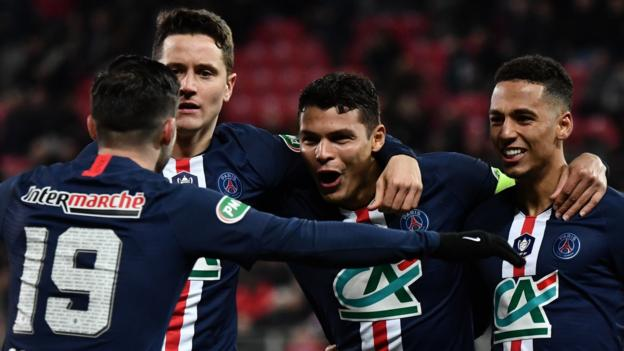 Dijon 1-6 Paris St-Germain: Kylian Mbappe on target in comfortable win for favourites