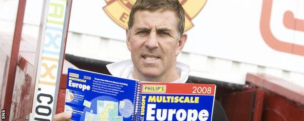 Mark McGhee in his previous spell with Motherwell