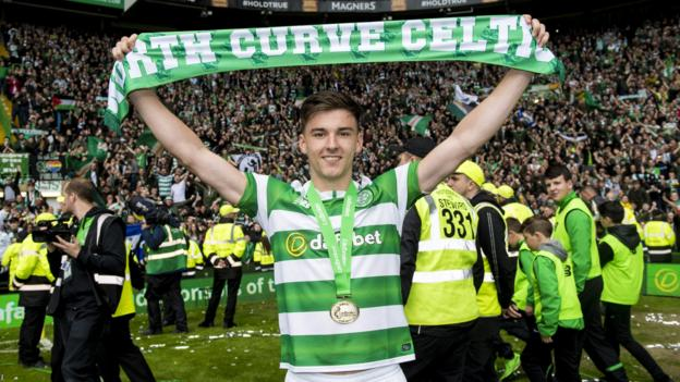 98cdd61a5756 Celtic  Kieran Tierney  not bothered  over a curtailed summer break - BBC  Sport
