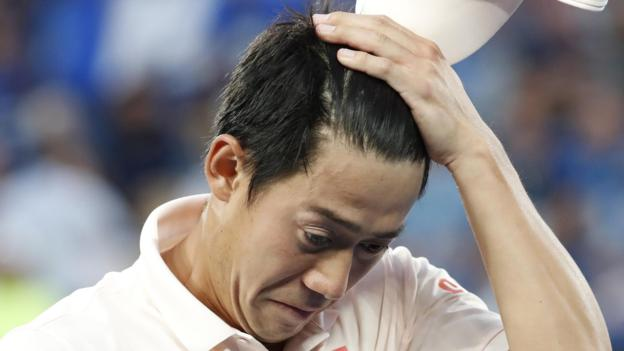 Novak Djokovic into Australian Open semi-finals after Kei Nishikori retires thumbnail