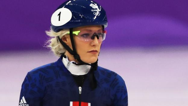 Elise Christie: British speed skater considered quitting after Winter Olympic heartbreak thumbnail
