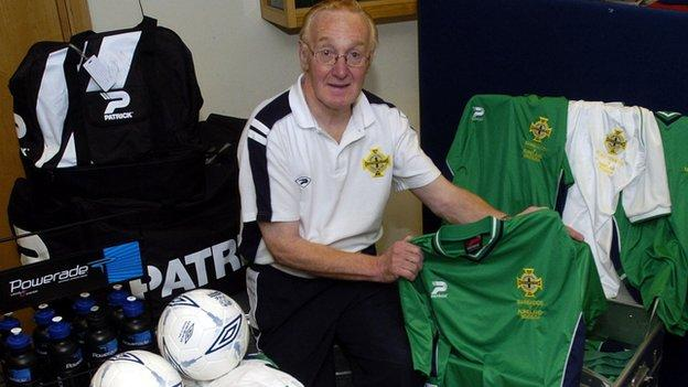 Derek's first match as kit attendant was a World Cup qualifier against Israel in 1981