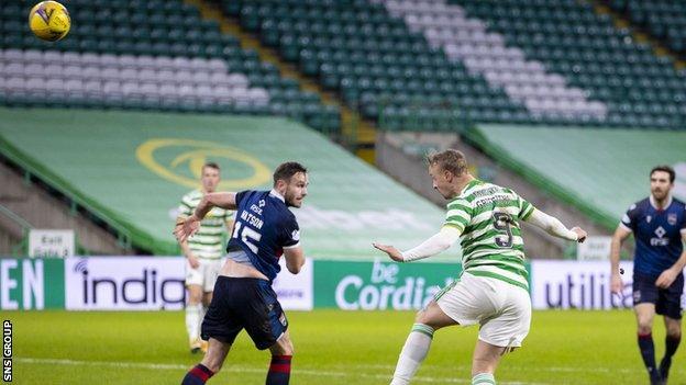 Leigh Griffiths, Celtic'e 2-0 yaptı