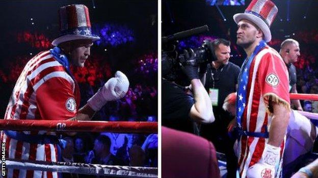 """Former world heavyweight champion Joseph Parker said this was """"just the beginning"""" for Fury in America"""
