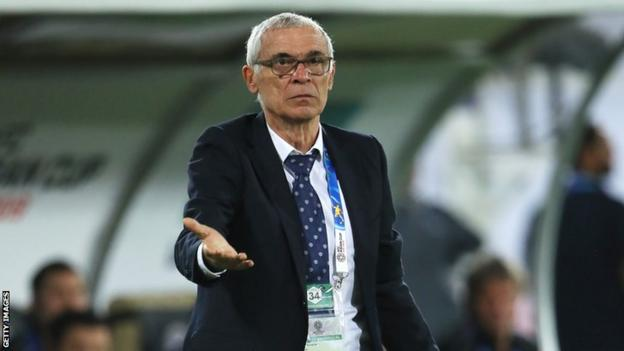 Argentine coach Hector Cuper