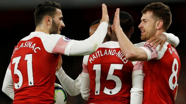 Arsenal 2-0 Newcastle: Gunners move above Tottenham and Man Utd thumbnail