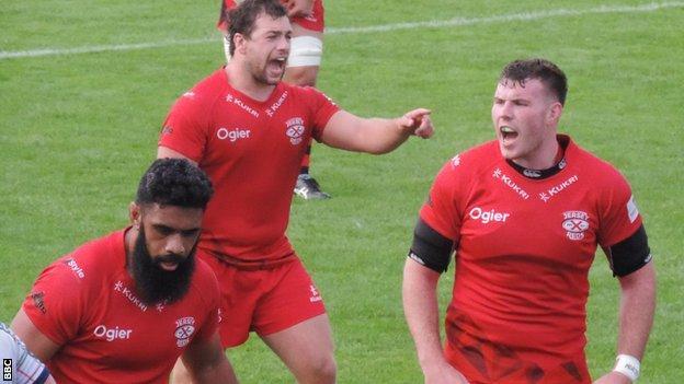 Jersey Reds, featuring Jack Macfarlane