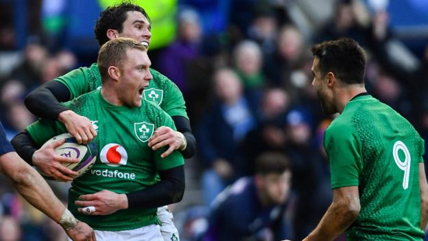 Six Nations: Ireland defeat Scotland 22-13 at Murrayfield to get off the mark thumbnail
