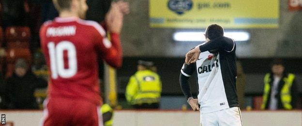 Dundee United defender Mark Durnan