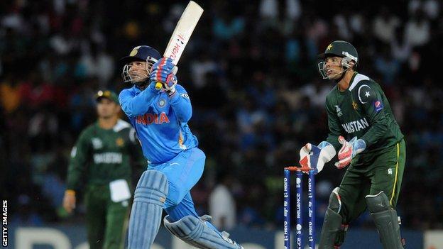 Virender Sehwag batting for India