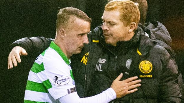 Leigh Griffiths: Celtic striker 'victim' in incident with fan - Neil Lennon
