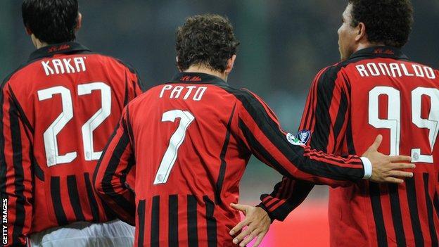 Alexandre Pato at AC Milan