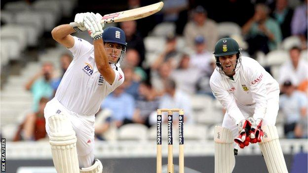 Alastair Cook and AB de Villiers