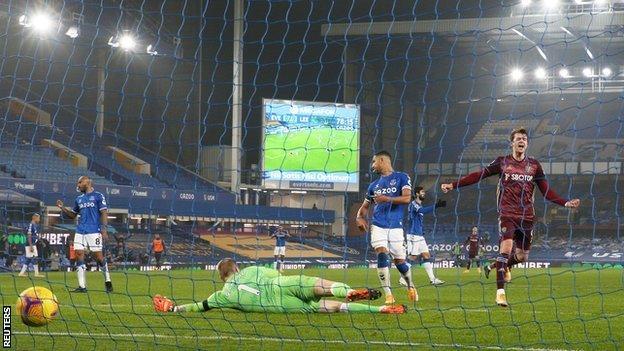 Patrick Bamford scores for Leeds United against his former club Chelsea at Stamford Bridge