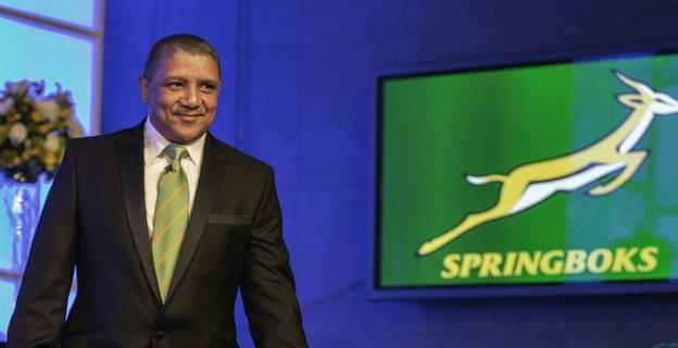 Newly appointed South Africa head coach Allister Coetzee