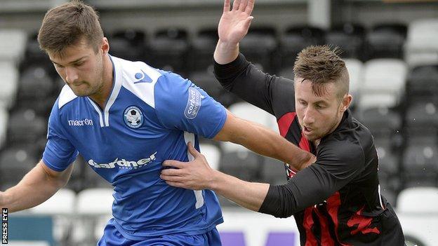 Crusaders played Welsh Premier side Airbus in a pre-season friendly