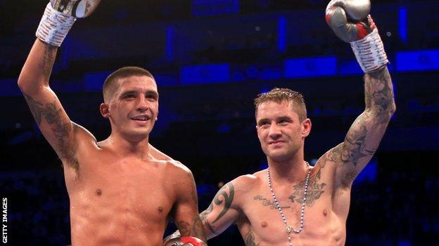 Lee Selby and Ricky Burns