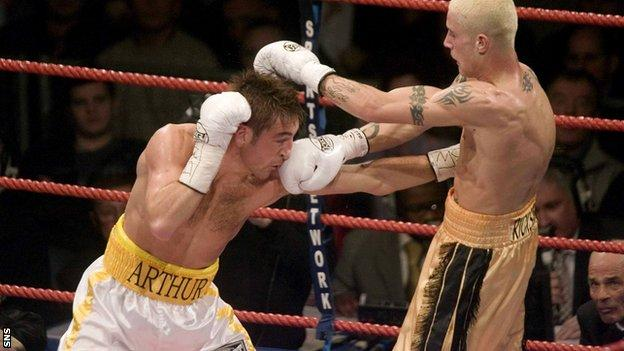 Alex Arthur, Ricky Burns