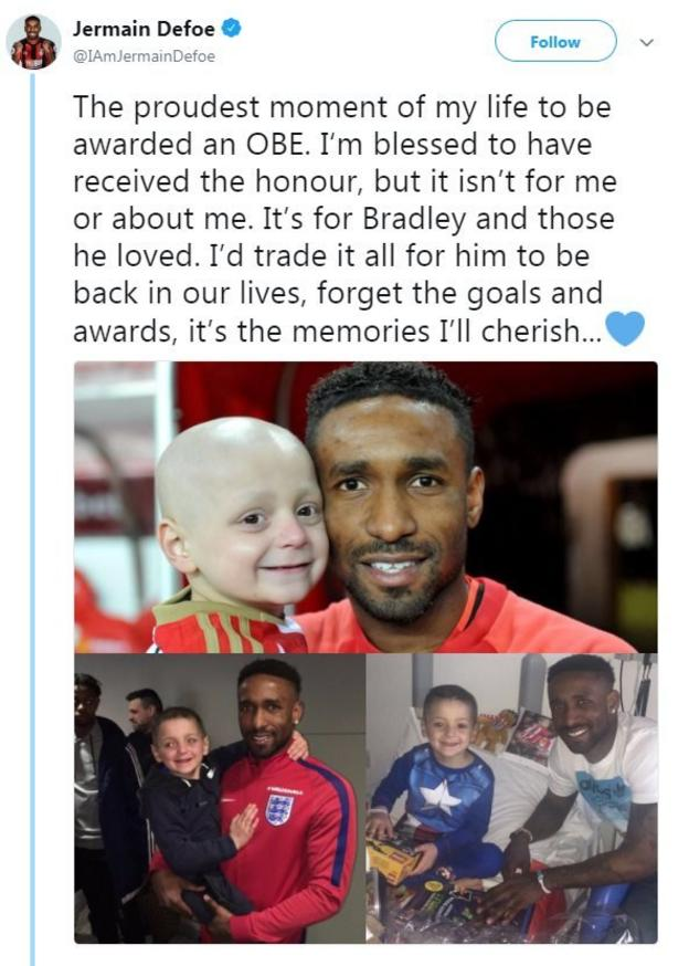 Jermain Defoe on Twitter