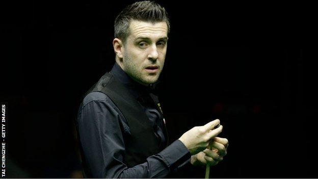Leicester's Mark Selby won the world championship in Sheffield in 2014, 2016 and 2017