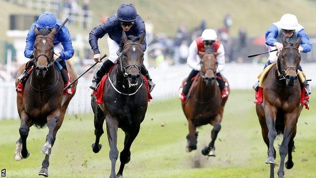 Cliffs Of Moher wins the Dee Stakes at Chester
