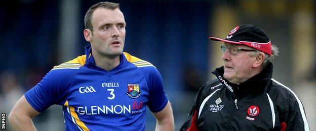 Paddy Bradley and John Brennan