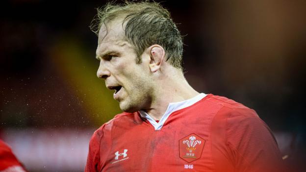 Alun Wyn Jones: Captain denies Wales lack respect for France