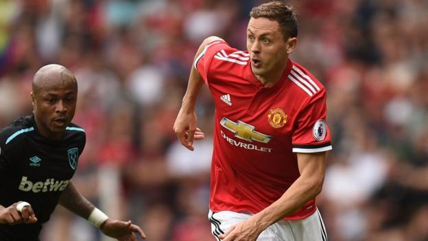 Nemanja Matic impresses for Manchester United