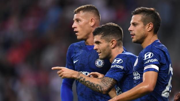 Pulisic and Pedro shine as Chelsea beat Red Bull Salzburg thumbnail